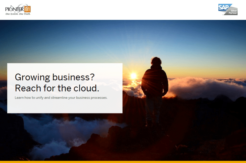 Growing Business? Reach For The Cloud