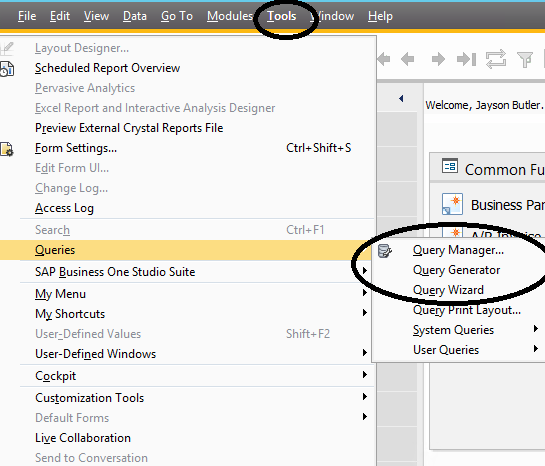 Link Excel To Sap