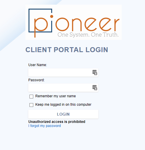 Pioneer Client Portal | User Training | SAP Business One Support